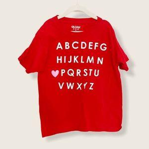 ABC Shirt Size XS 2-4